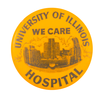 University of Illinois We Care Club Button Museum