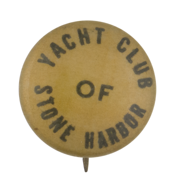 Yacht Club Of Stone Harbor Club Button Museum