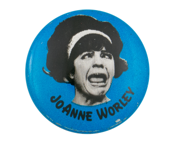 Laugh-In Joanne Worley Entertainment Button Museum