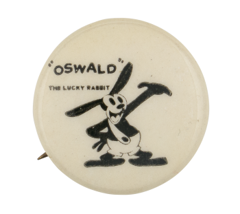 Oswald the Lucky Rabbit Entertainment Button Museum