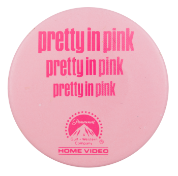 Pretty in Pink Entertainment Button Mueum