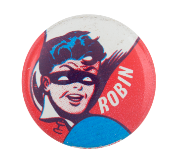 Robin In Red White And Blue Entertainment Button Museum
