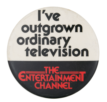 The Entertainment Channel Entertainment Button Museum