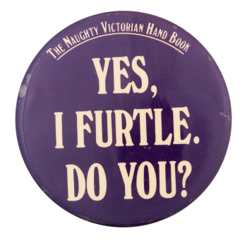 The Naughty Victorian Entertainment Button