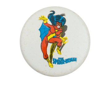 The Spider-woman Entertainment Button Museum