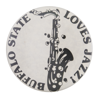 Buffalo State Loves Jazz Events Button Museum