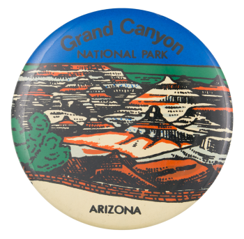 Grand Canyon National Park Event Button Museum