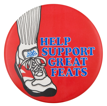 Help Support Great Feats Event Button Museum