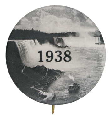 Niagara Falls 1938 Event Button Museum