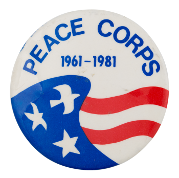 Peace Corps 1961-1981  Event Button Museum