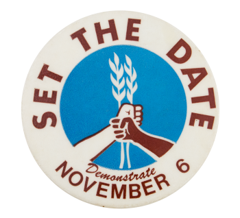 Set the Date November 6 Event Button Museum