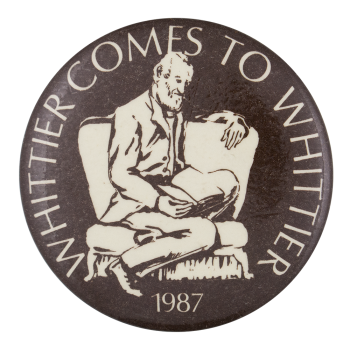 Whittier Comes to Whittier Event Button Museum
