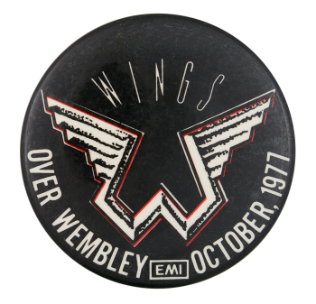 Wings Over Wembley Music Button Museum