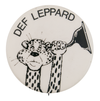 Def Leppard Rock Brigade Music Button Museum