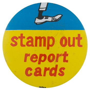 Stamp Out Report Cards Large