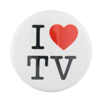 I Heart TV I Heart Button Museum