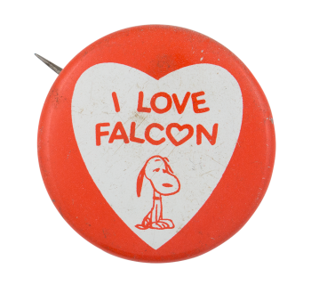 I Love Falcon I ♥ Buttons Button Museum