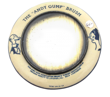 Andy Gump Brush Innovative Button Museum