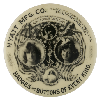 Hyatt Manufacturing Company Innovative Button Museum
