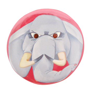 Red Eyed Elephant Innovative Button Museum
