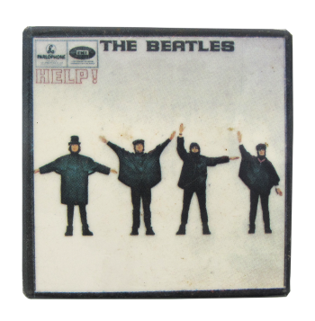 The Beatles Help Music Button Museum