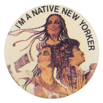 Odyssey Native New Yorker Music Button Museum