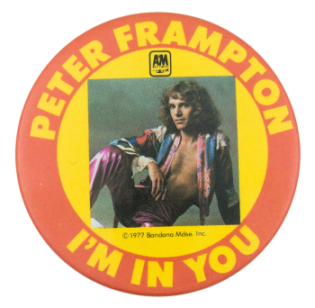 Peter Frampton I'm In You Music Buttom Museum