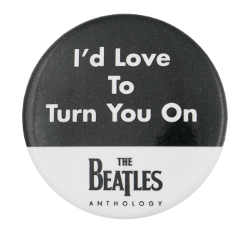 The Beatles Turn You On Music Button Museum