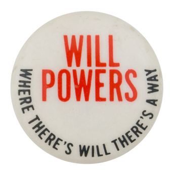 Will Powers Entertainment Button Museum