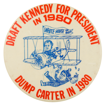 Draft Kennedy for President Political Button Museum