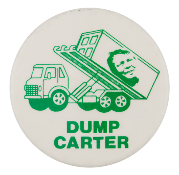 Dump Carter Political Button Museum