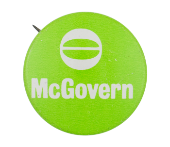 Ecology McGovern Political Button Museum