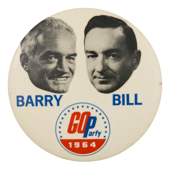 GOParty 1964 Political Button Museum