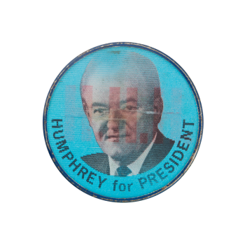 Humphrey For President Political Button Museum