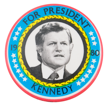 Kennedy For President 1980 Political Button Museum