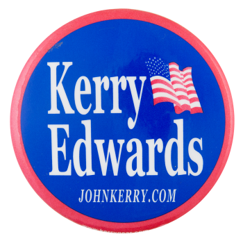 Kerry Edwards Political Button Museum