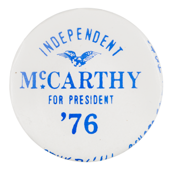 McCarthy for President Political Button Museum