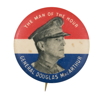 The Man of the Hour Political Button Museum