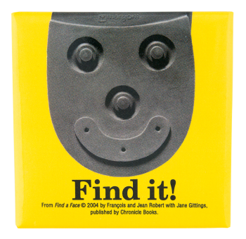 Find A Face Yellow Smileys Button Museum