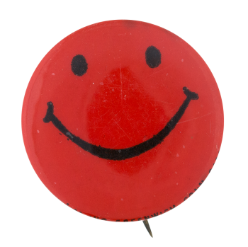 Red Smiley Smileys Button Museum