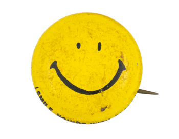 Smile Your with Safeco Smileys Button Museum