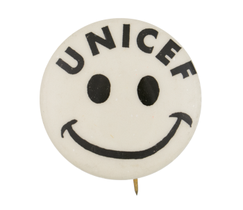 UNICEF Smiley Smileys Button Museum