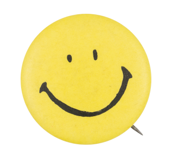 Yellow Smiley 4 Smileys Button Museum