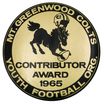 Mt. Greenwood Colts Sports Button Museum