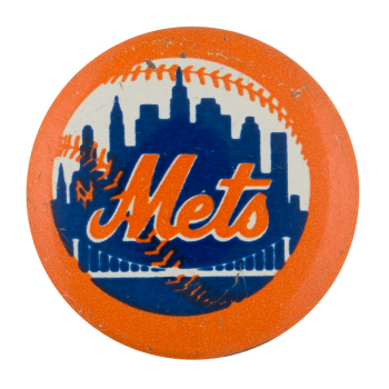 Mets Sports Button Museum