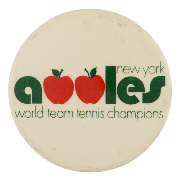 New York Apples Sports Button Museum