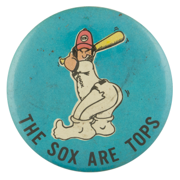 Sox Are Tops Sports Button Museum