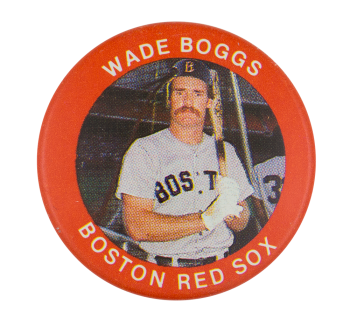 Wade Boggs Boston Red Sox Sports Button Museum