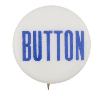 Button Blue Text Self Referential Button Museum