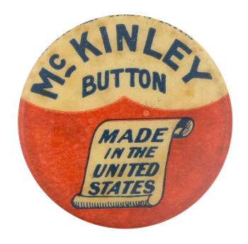 Mc Kinley Button Self Referential Button Museum